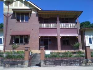 24b - the old heritage house on Cockatoo Island, Sydney Harbour