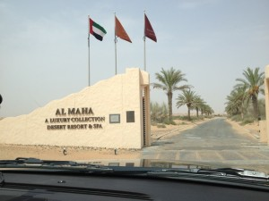 CLICK: Entry to Al Maha resort